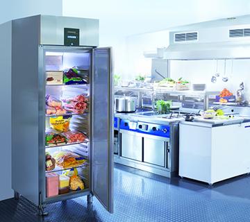 Kühlschrank in Gewerbeküche