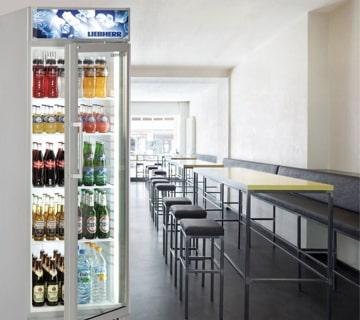 Kühlschrank für Getränke - Gewerbegeräte von Elha Service