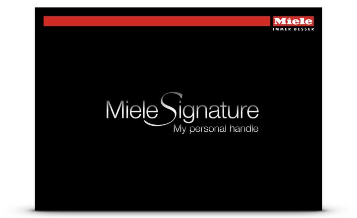 Miele Signature Griffe
