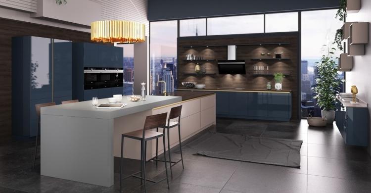 Moderne Küchen von Brigitte Küchen Händler | Elha Service