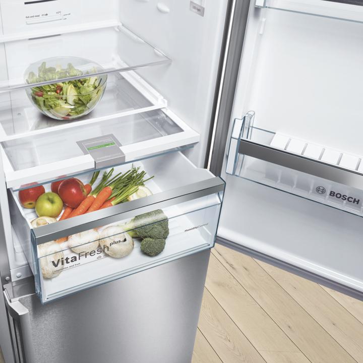 Kühlschrank mit Gemüsefach