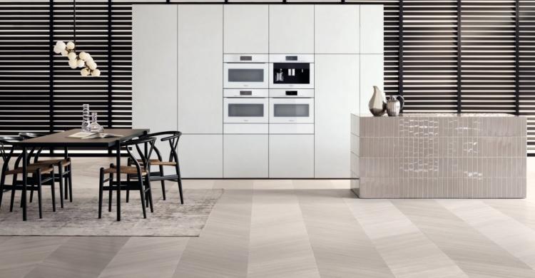 Küchen haben eine hohe Funktionalität und moderne Optik