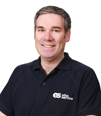 Elha Service Geschäftsführer Rainer Maier
