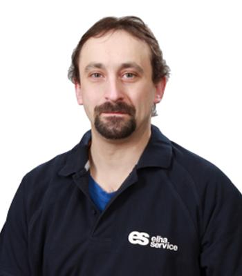 Elha Service Monteur Alexksandar Zeman