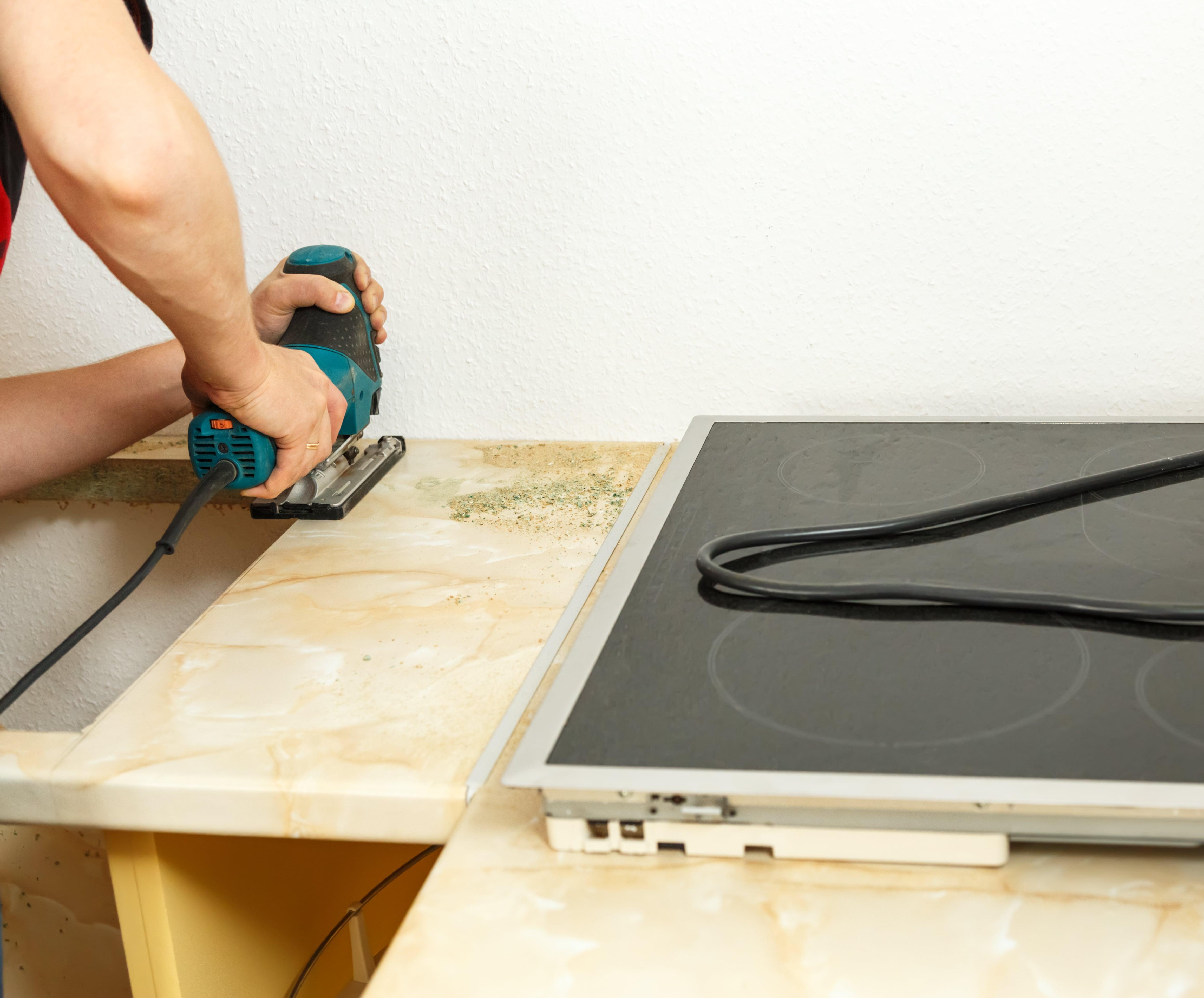 Renovierung Ihrer Küchen-Arbeitsplatte