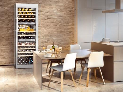 Emejing Küche Mit Weinkühlschrank Contemporary House