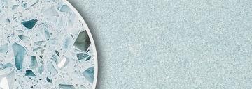B5313 Hellblau spiegel poliert