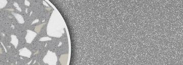 B5511 Konfetti grau feinrau