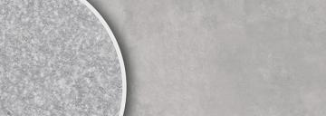 B6124 Wolke grau satiniert