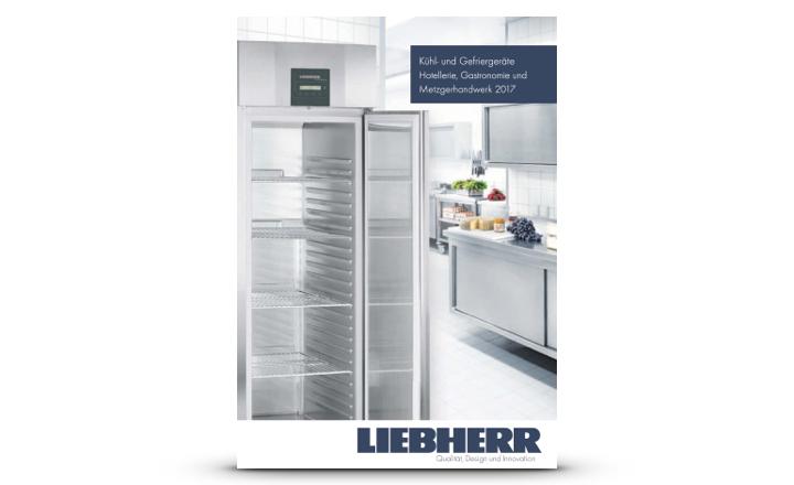 Liebherr Prospekt Kühl- und Gefriergeräte