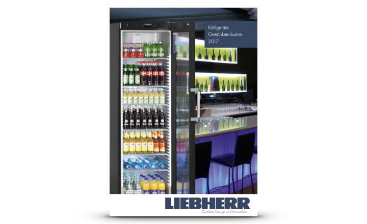 Liebherr Prospekt Kühlgeräte Getränkeindustrie