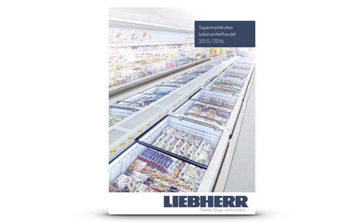 Liebherr Prospekt Supermarkttruhen