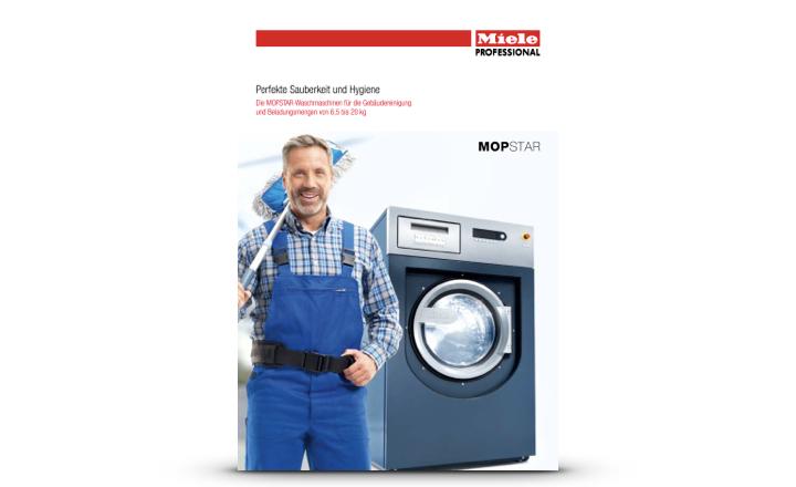 Miele Prospekt Waschmaschinen für Gewerbe