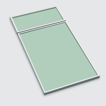 Glasgrün satiniert (AF5)