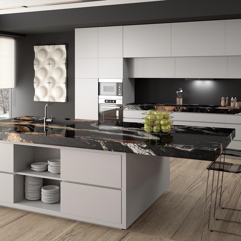 naturstein arbeitsplatten f r ihre k che elha service. Black Bedroom Furniture Sets. Home Design Ideas
