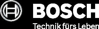 Logo Bosch weiß