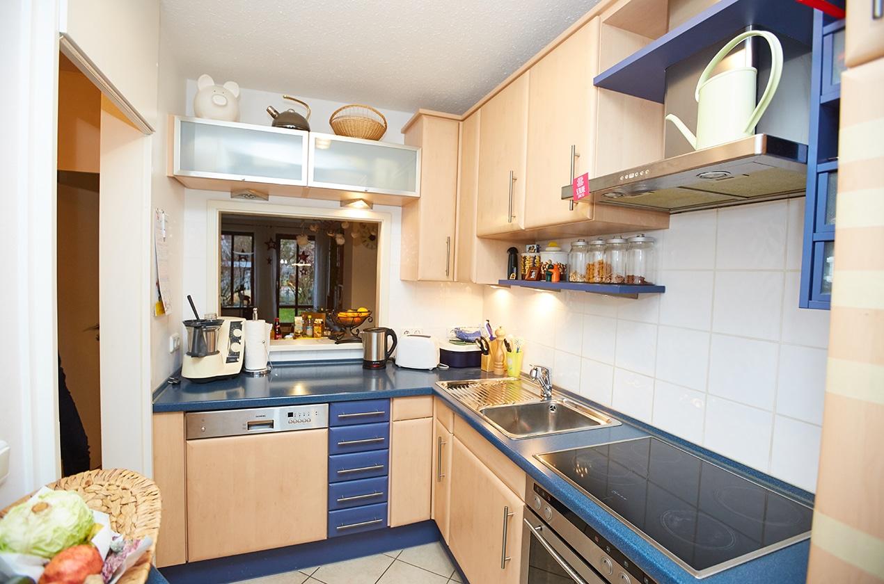 Ungewöhnlich Küche Renovieren Budgetplaner Ideen - Küchenschrank ...