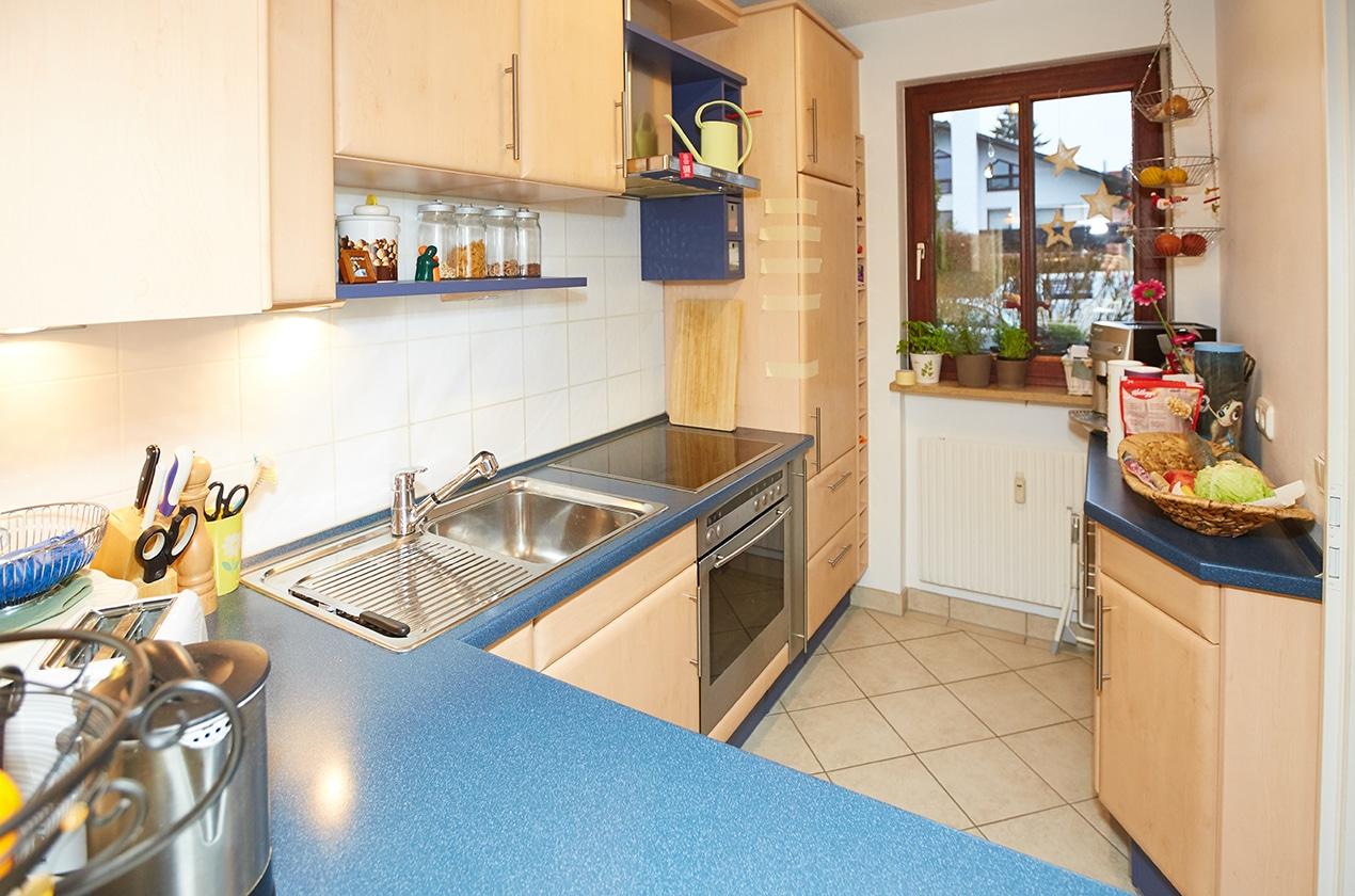 Fantastisch Küchenwand Farbbilder Galerie - Küche Set Ideen ...