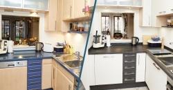 Küche verschönern mit vorher/nachher Bildern unserer Küchenprojekte