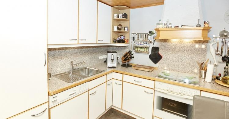 Vorher Bild der Küche bei Oswald, welche neugestalten wurde
