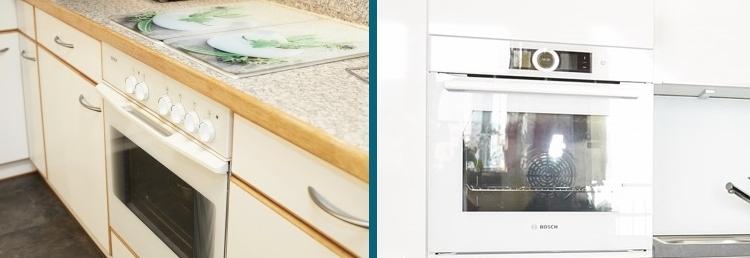 Bosch Backofen nach Küchenneugestaltung