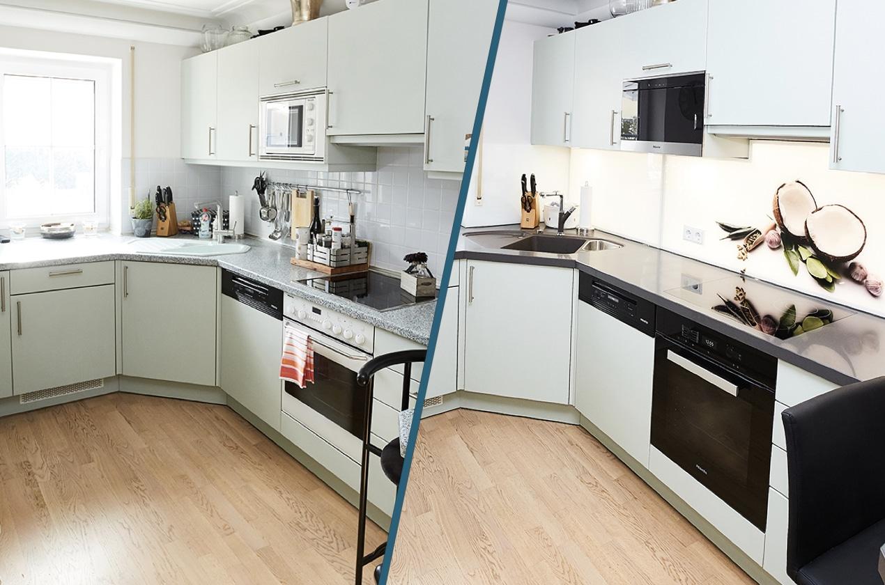 eckk che neu gestalten projekt w lflein elha service blog. Black Bedroom Furniture Sets. Home Design Ideas