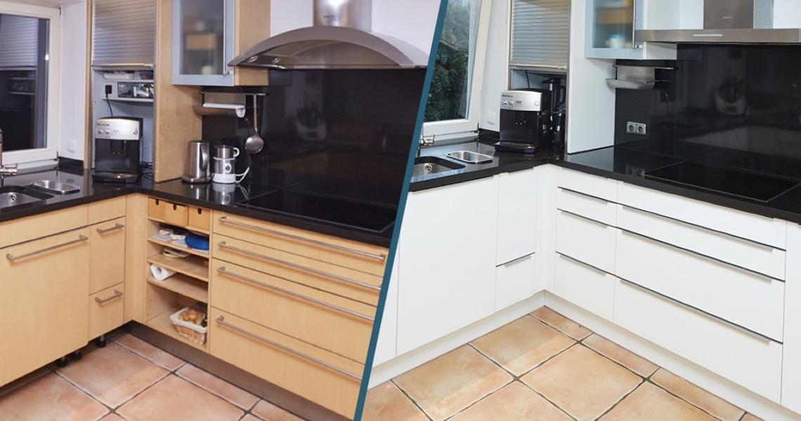 Alte küche aufpeppen bei krausenecker küchenstudio elha service