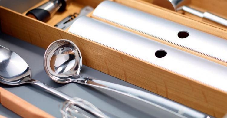 Bestecksystem aus Holz und Metall von FineLine MosaiQ