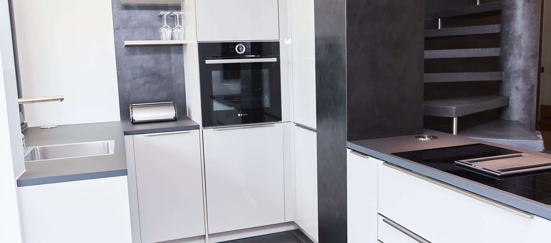 hochwertige einbauk chen in m nchen elha service. Black Bedroom Furniture Sets. Home Design Ideas