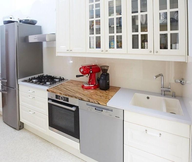 Nachher Ansicht einer aufgewerteten Küche