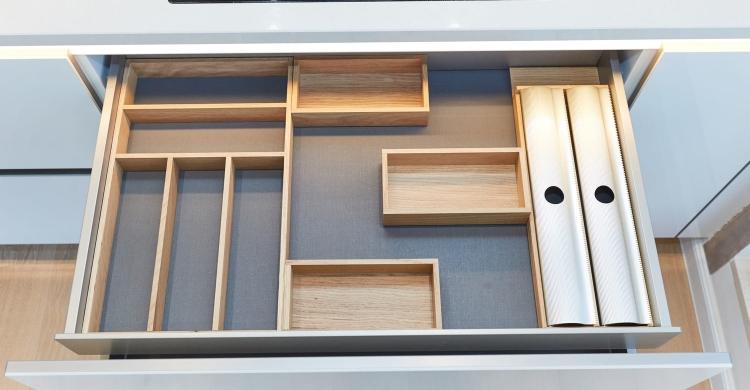 Stauraum-Küche-Schubladensystem