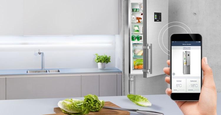 smart-home-küche-kühlschrank