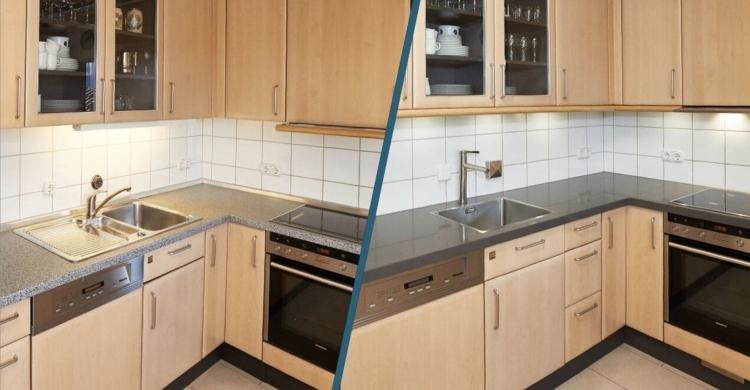 Küche-neue-Arbeitsplatte