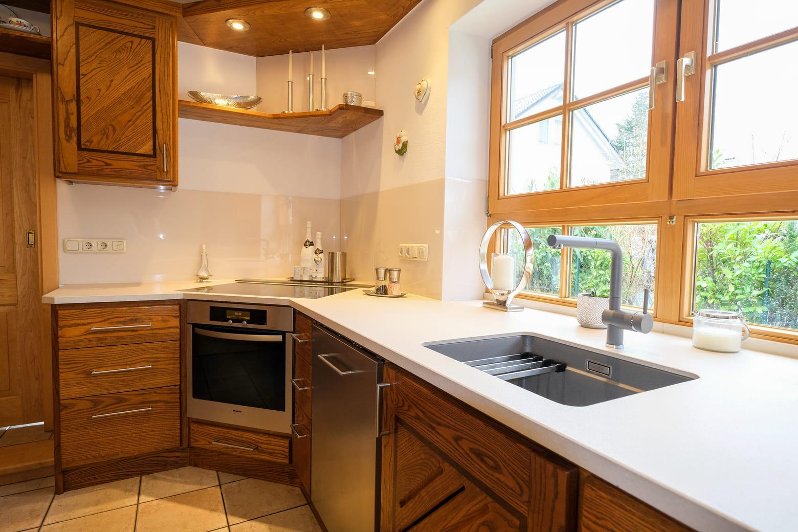 Küchentrends 2020: Helle Arbeitsplatte