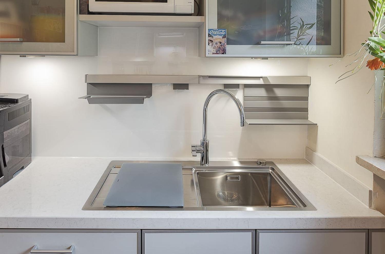 kleine Küche planen - Beispiel 2
