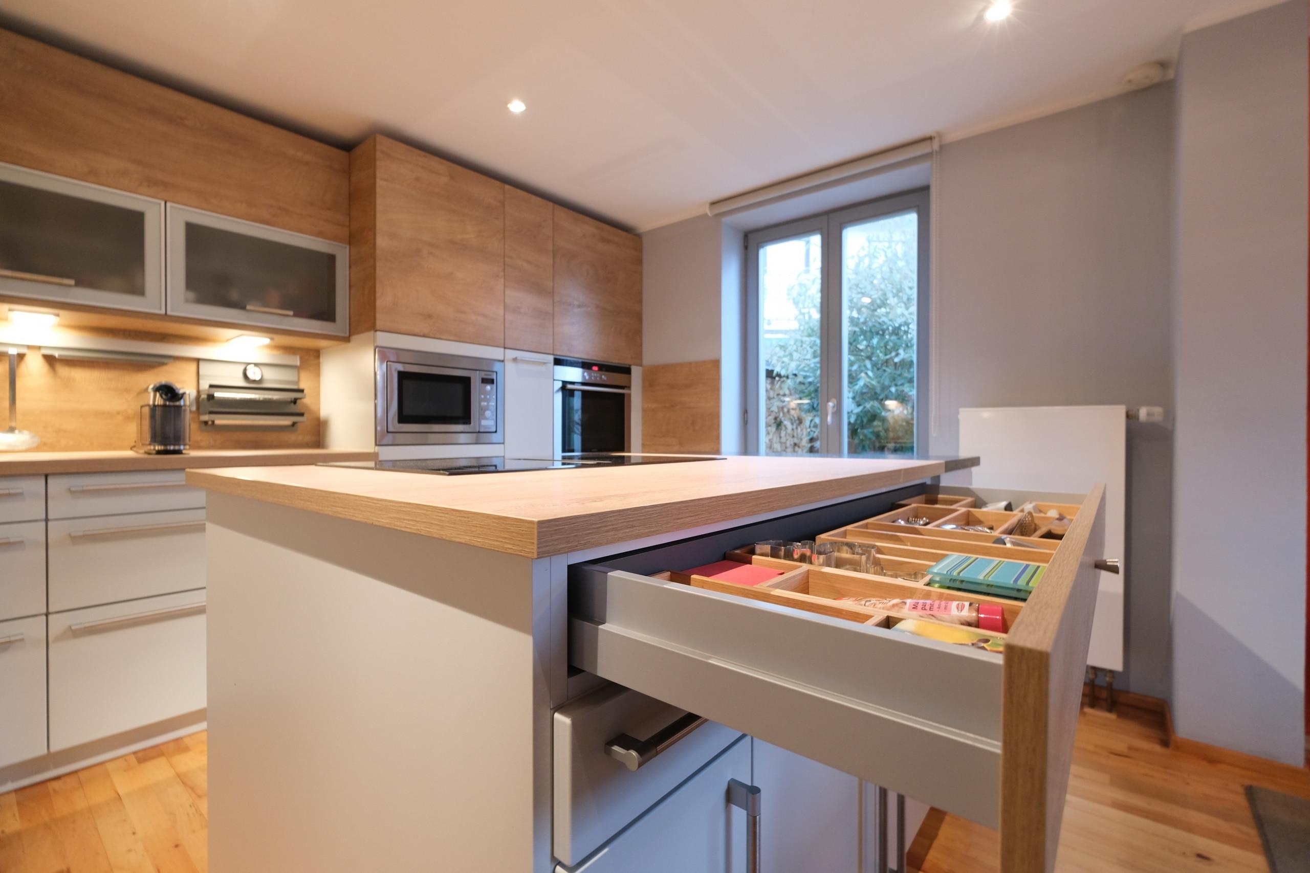 Schublade-ergonomische-Küche