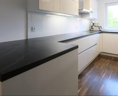 Küchenrenovierung Ivan M. Arbeitsplatte freistehend