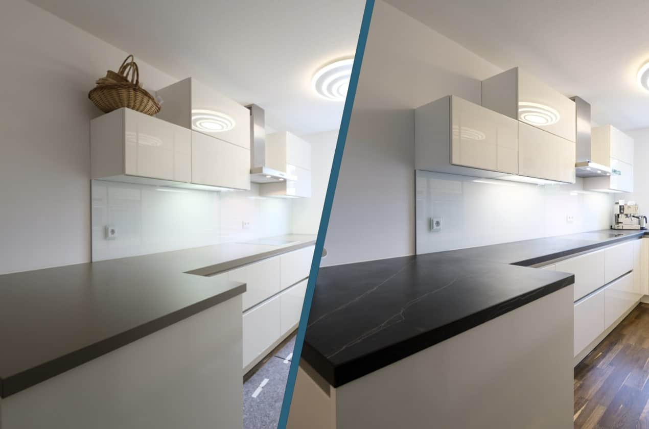 Küchenrenovierung Ivan M: Vorher/Nachher