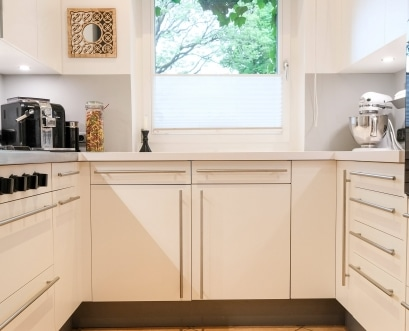 Alter Griff, neue Fronten: neuer Glanz für die Küche